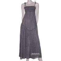 cotton bobin dress-maxi