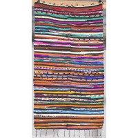 heavy cotton/silk rag rug