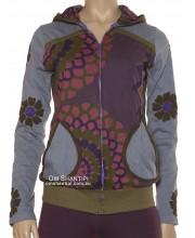 Mandala Print L/S hoodie