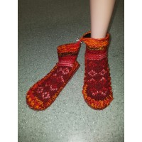 Woolen indoor socks