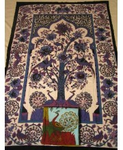 TREE OF LIFE SINGLE BED COVER