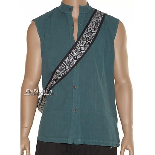 Sleeveless Jimi cotton shirt