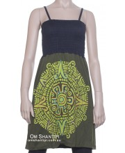 big mandala bobbin dress