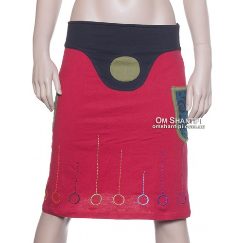 lollypops cotton skirt