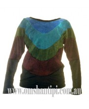velvet  long sleeved, 3 colour t-shirt
