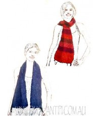 DR WHO SCARVES