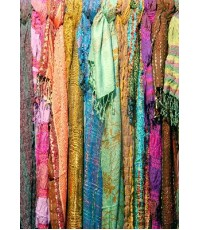 mixed scarves