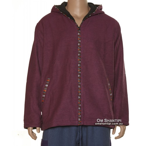 Butani Cotton Jacket w/ Fleece linging