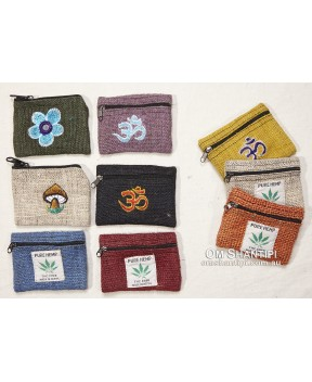 Small Hemp Coin Purse