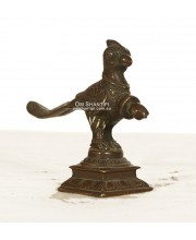 Antique Mascara bird statue