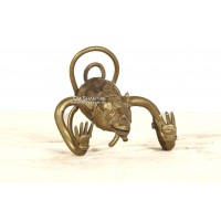 Brass Monkey hook/statue
