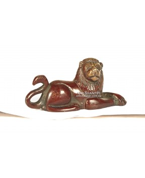 Brass Lion ornament