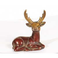 Sitting Deer ornament