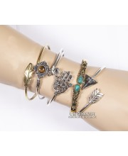 Brass bracelats-assorted