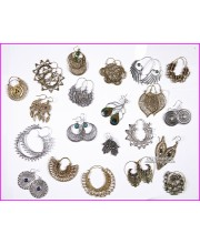 Brass earrings-assorted
