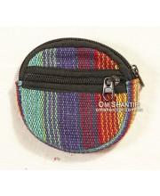 Cotton Round Purse