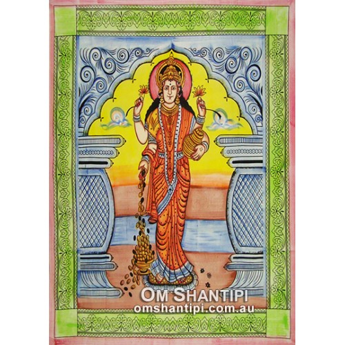 Indian Goddess Bed Spread Single