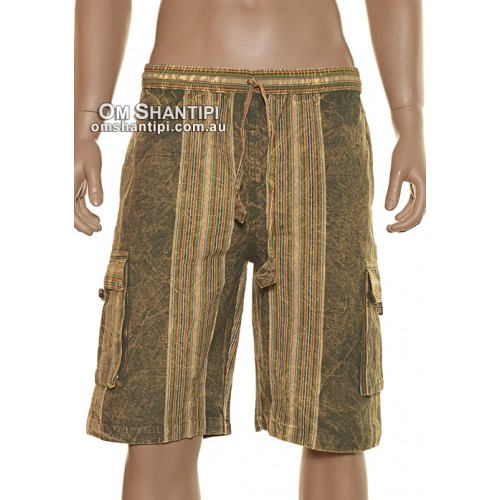 Stone Wash Shayma Shorts