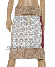 3/4 Cotton Wave Skirt
