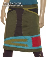 3/4 Cotton Hetz Skirt