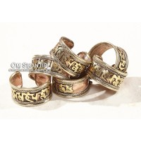 Mantra Ring Mixed Metal