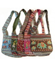 Cotton Elephant Bag