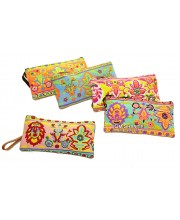 Floral Canvas Pencil Case