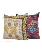 Vintage Kantha 60x60 Cushion Covers