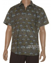 Cotton Short Sleeve Edmond Shirt
