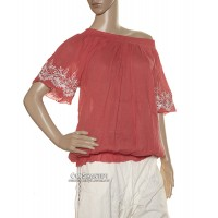 Crepe Cotton Boho Jaba Top