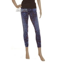 Tie Dye Cotton Lycra Leggings