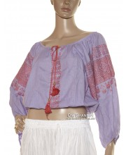 Cotton Embroidered Bella Top