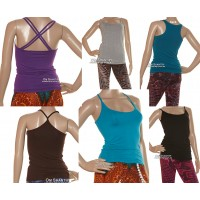 Plain Assorted Yoga Singlets