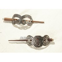 Metal Hair Clip w/stick