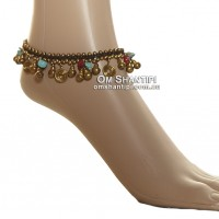 Bells and Stone Anklet