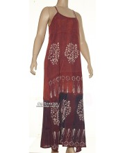 Batic Long Dress