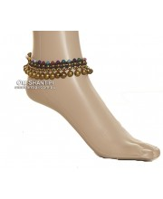 Big Bells and Stone Anklet