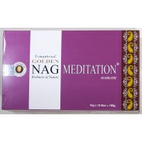 Golden meditation incense 12x15gm