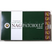Golden Patchouli incense 12 x 15gm