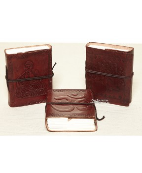 Handmade Paper Diary Leather