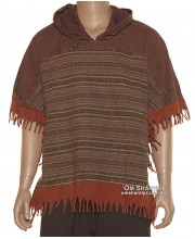 Armoni Cotton Poncho Top