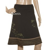 A-line Aari Patch Skirt