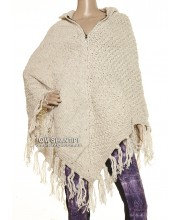 Knitted Woolen Poncho